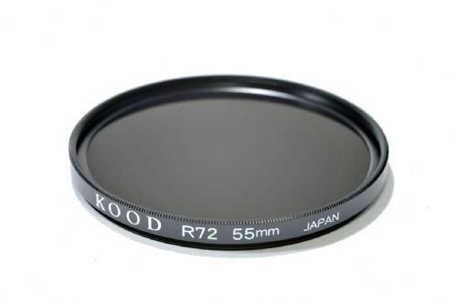 Kood High Quality R720  Infrared Special Effects Filter 55mm Made in Japan.